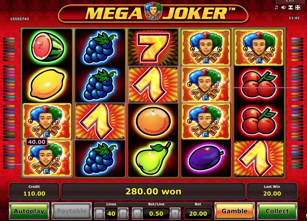 Slot Machine Lines 24087