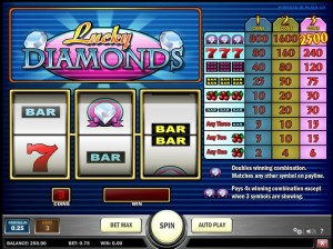 Lucky Diamonds Slot 65941