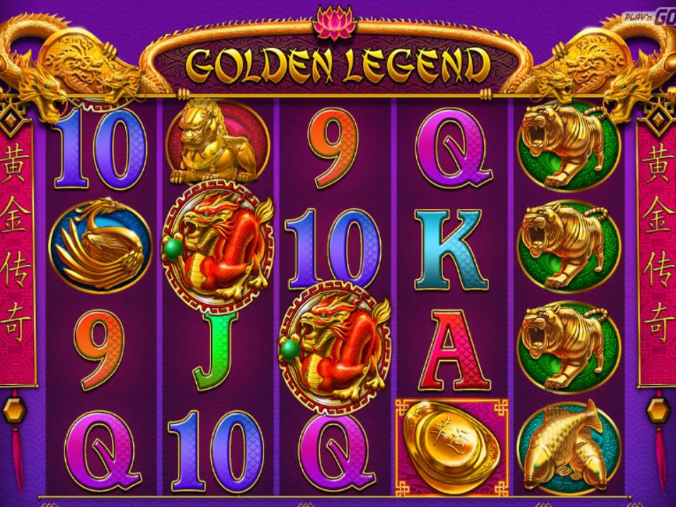 Golden Legend Slot 18397