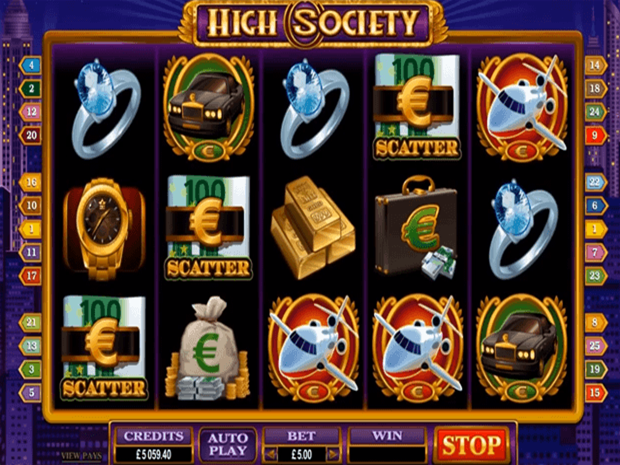 High Society Casino 41542