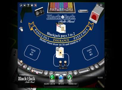 Quick Play Blackjack 53222