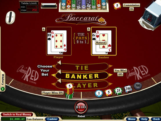 Strategy of Baccarat 23610