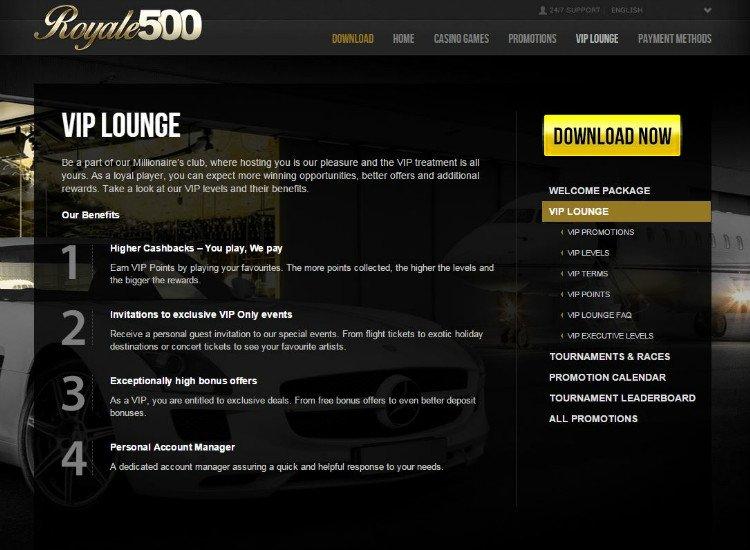 Bonus VIP Lounge 47493