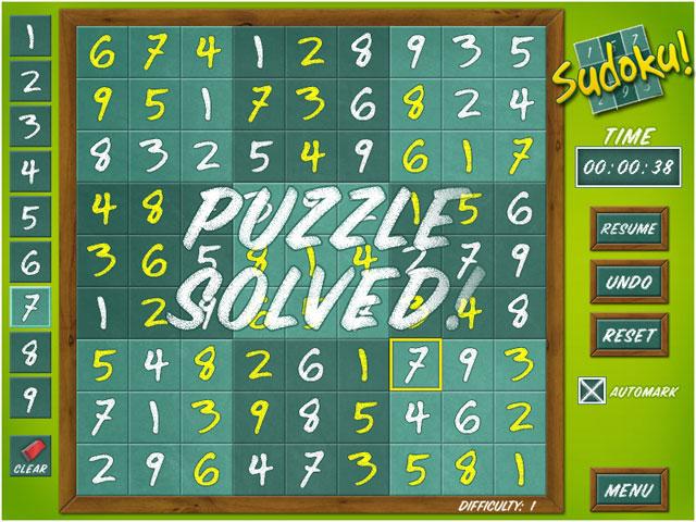 Sudoku Classic Game 74477