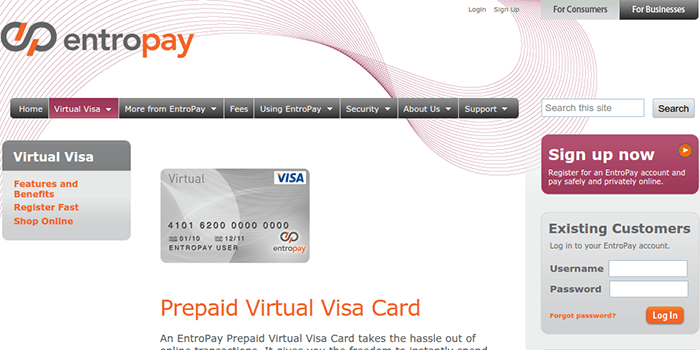 Entropay Bank 69881