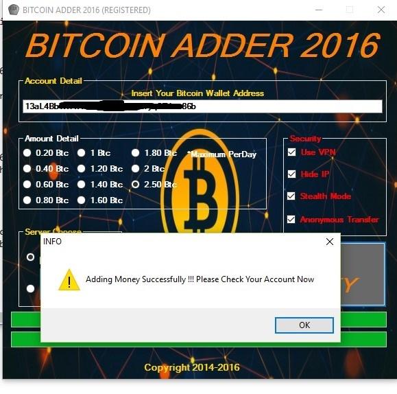 Anonymous Bitcoin 76951