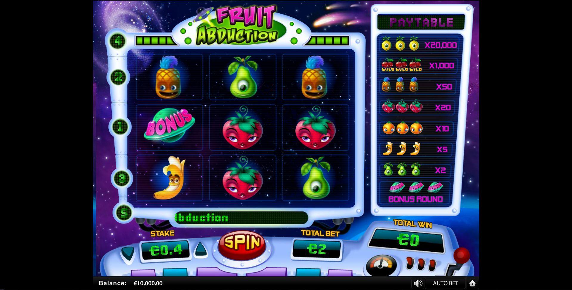 Classic Fruit Slot 7333