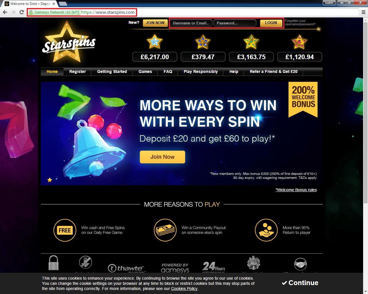 Casino Rewards 61599