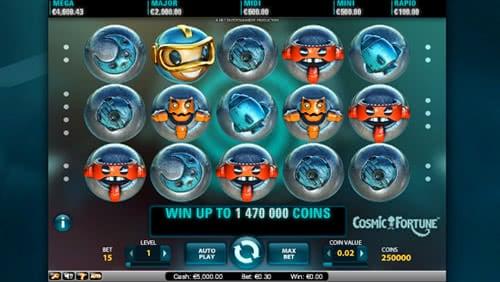 Cosmic Fortune Slot 92002