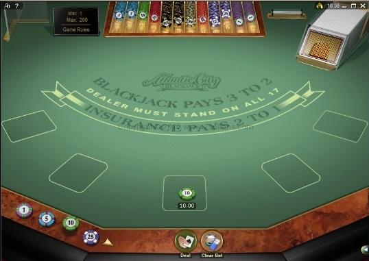 European Blackjack Insurance 77201