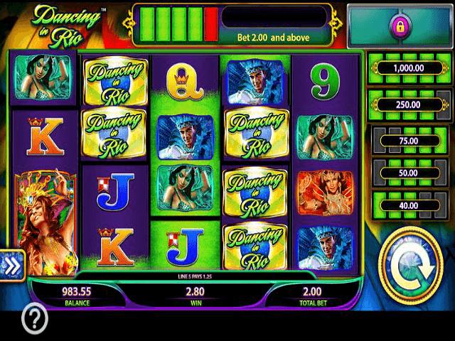 Samba Carnival Slot 98951