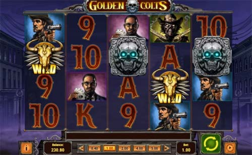 Golden Colts Slot 58134
