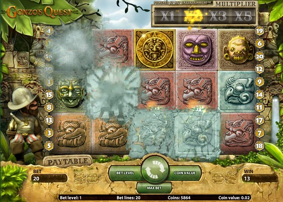 Gonzo Quest Slot 95992