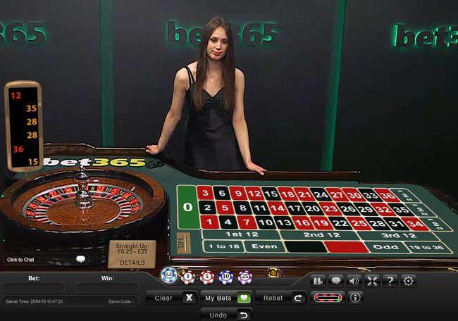 Live Dealer Roulette 41897