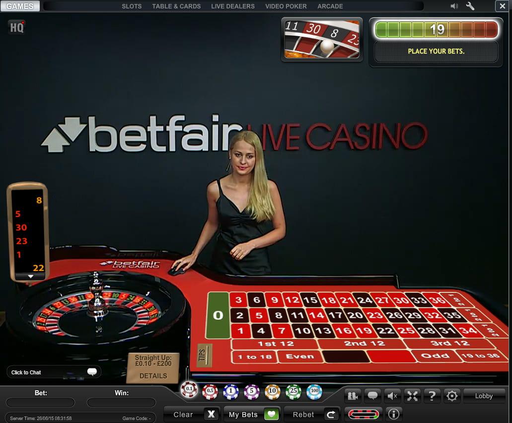 Live Dealer Roulette 10132