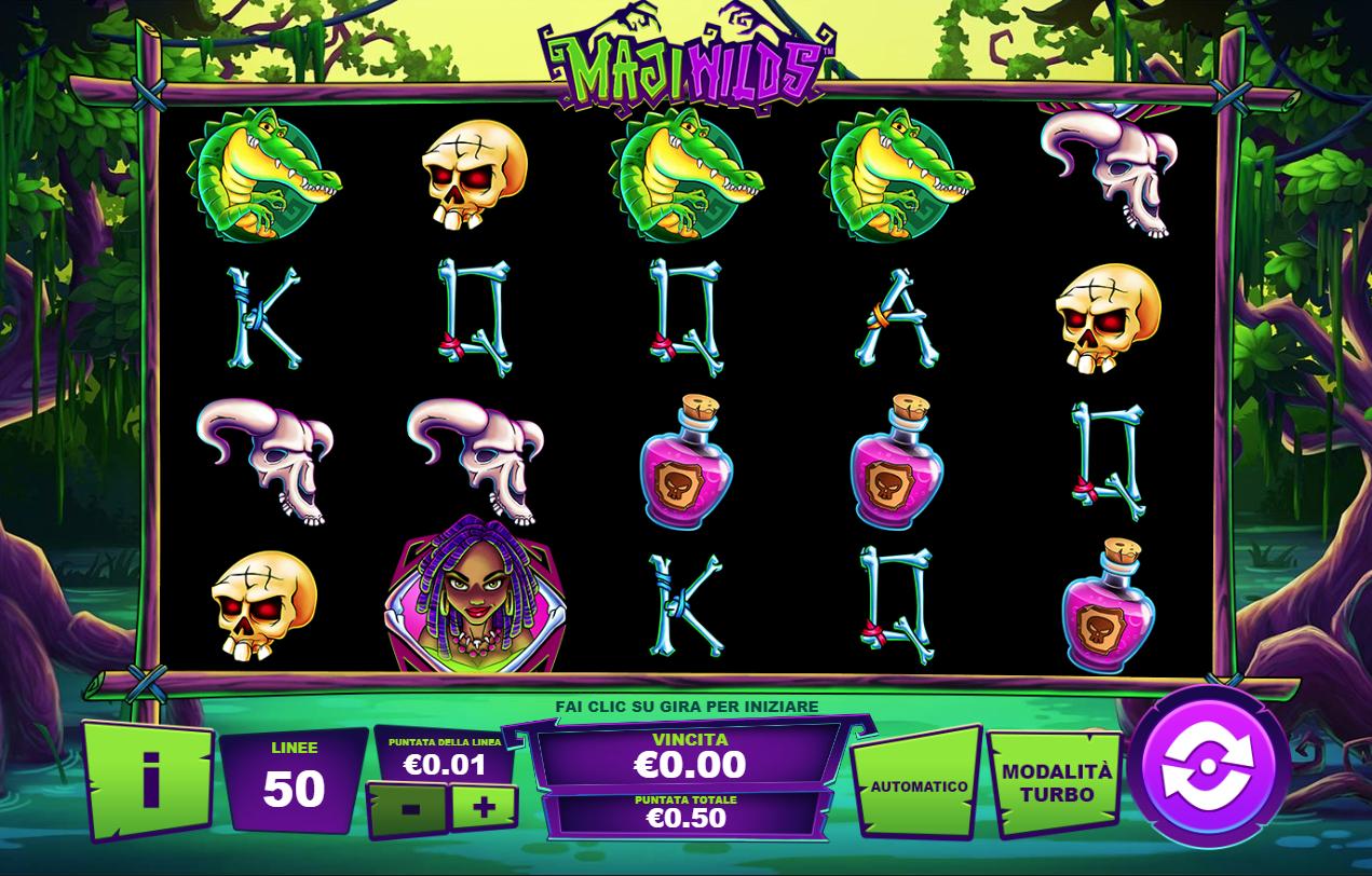 Maji Wilds Slot 65232