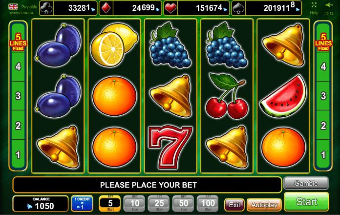 Slot Machine is 5337