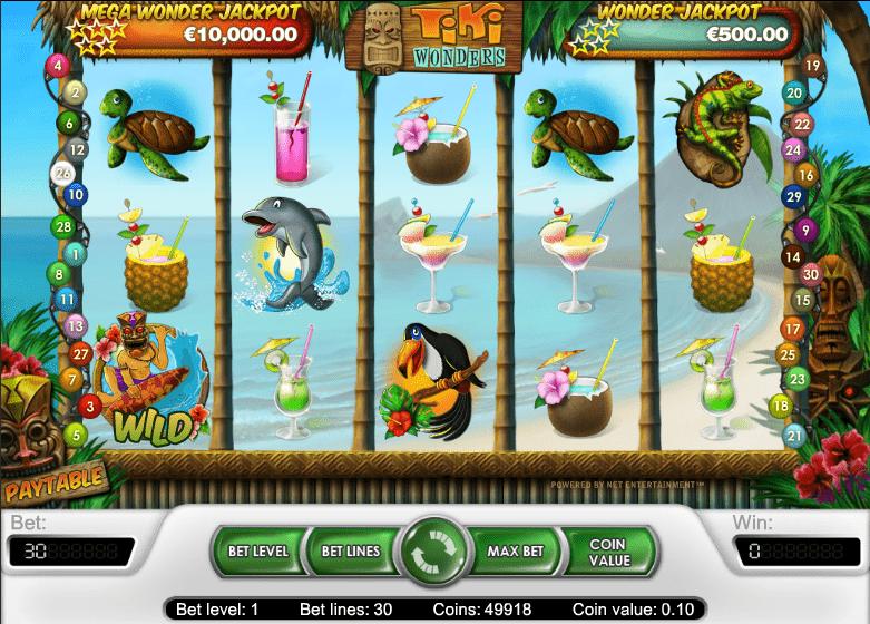 Tiki Wonders Slot 78768